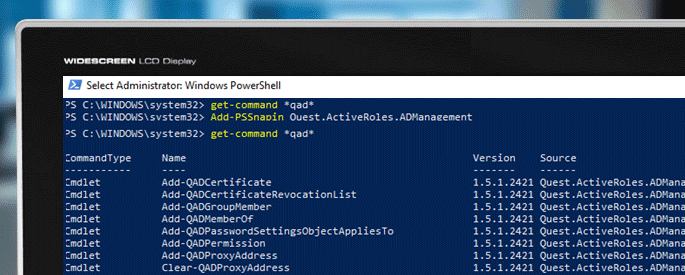 quest active directory powershell