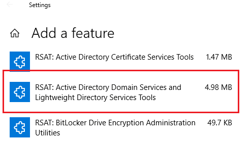 active directory powershell module