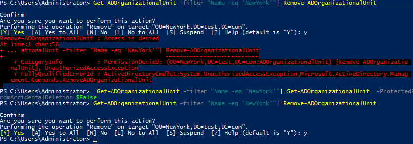 active directory ou structure