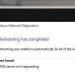 dns server not responding cover