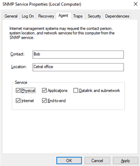 snmp service windows 10