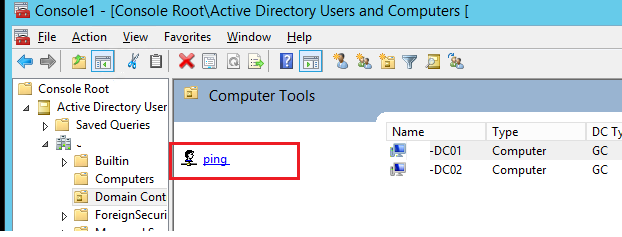 add active directory snapin