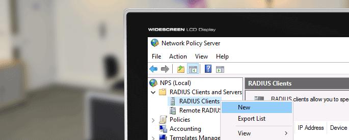 windows radius server