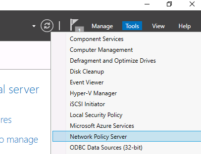 windows radius server
