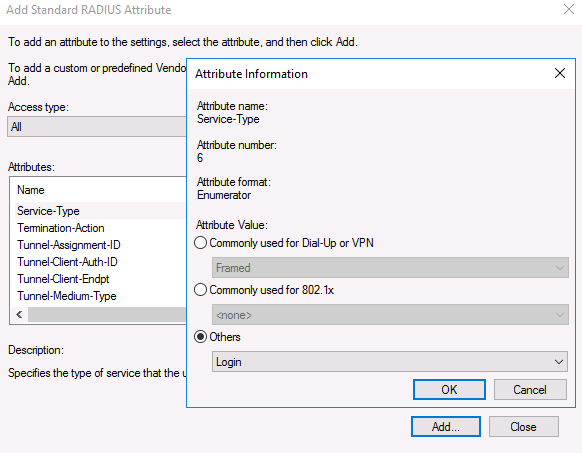 windows server 2016 radius