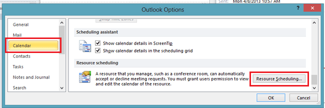 auto accept meetings outlook