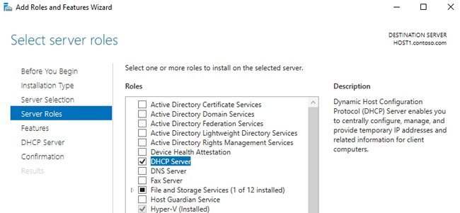 Configuring DHCP Load Balancing on Windows Server 2016