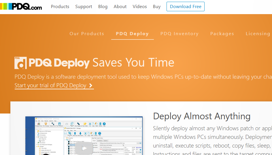 Software Deployment Using PDQ Deploy