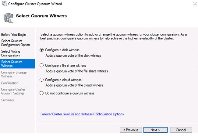 windows 2016 file server cluster step by step