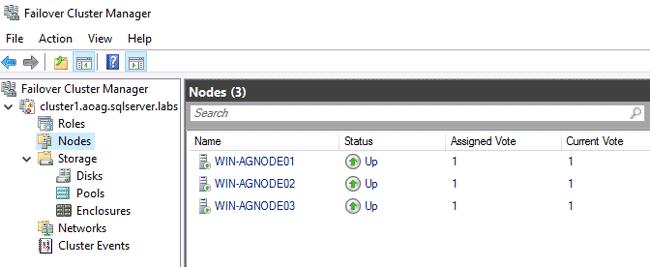 how to configure quorum disk in windows 2016
