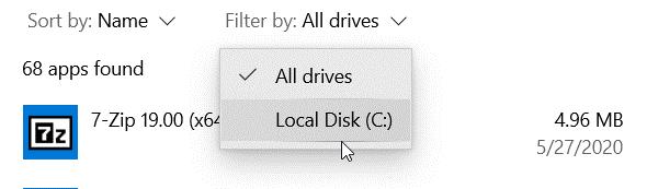 windows list installed programs command line