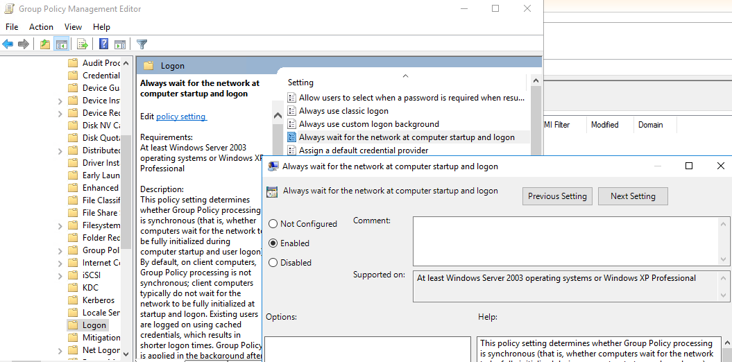 the processing of group policy failed windows attempted to read the file gpt ini windows 10