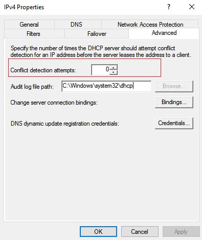 error windows has detected an IP address conflict