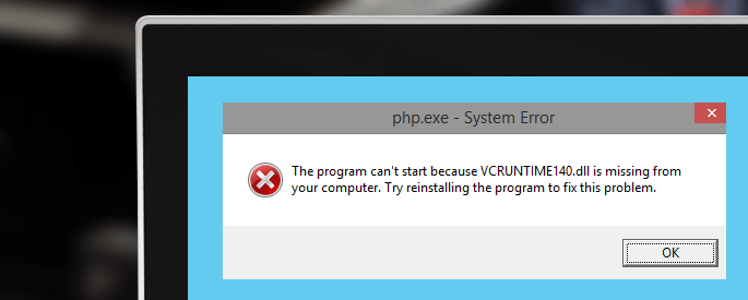 How to Fix The program can't start because VCRUNTIME140.dll is Missing