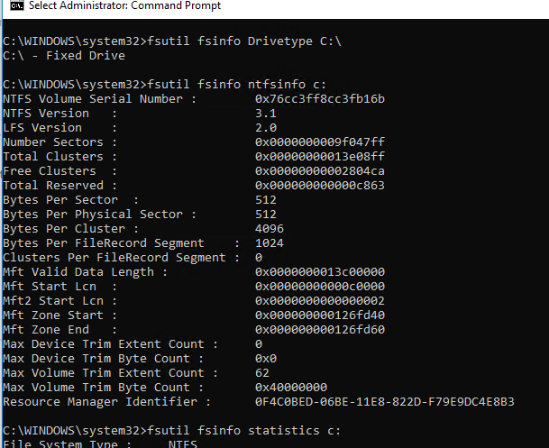 Using Fsutil Command to Manage and Repair File System in Windows