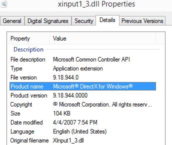 fix Xinput1_3.dll is missing