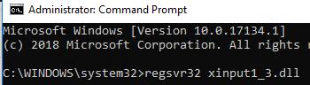 error Xinput1_3.dll is missing