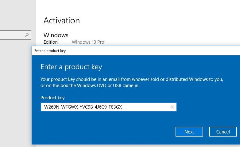 Windows 10 Error Unable to Reach Windows Activation Servers