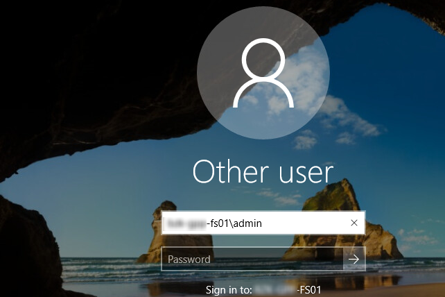 login to local account windows 10