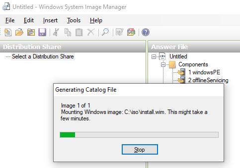 sysprep unattend.xml windows 10