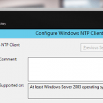 Configuring DC for Sync Time with External NTP Server