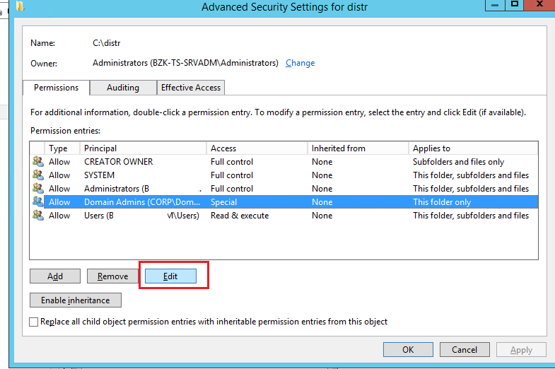 Managing NTFS Permissions in Windows – TheITBros