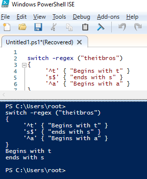powershell switch example