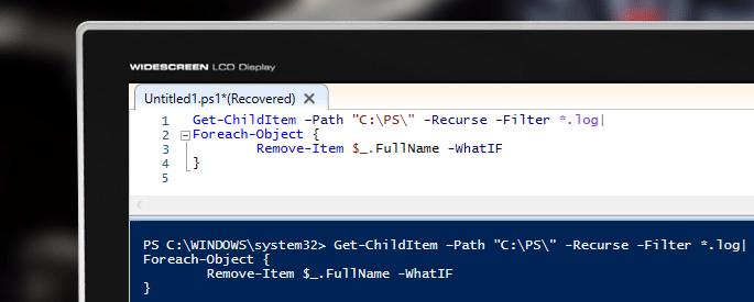 PowerShell Script to Loop through Files