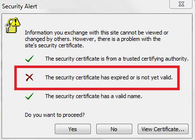 renew exchange certificate
