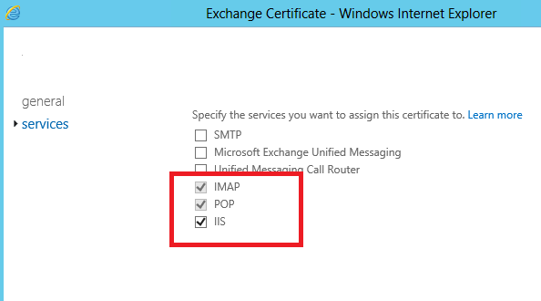 renew exchange certificate step by step