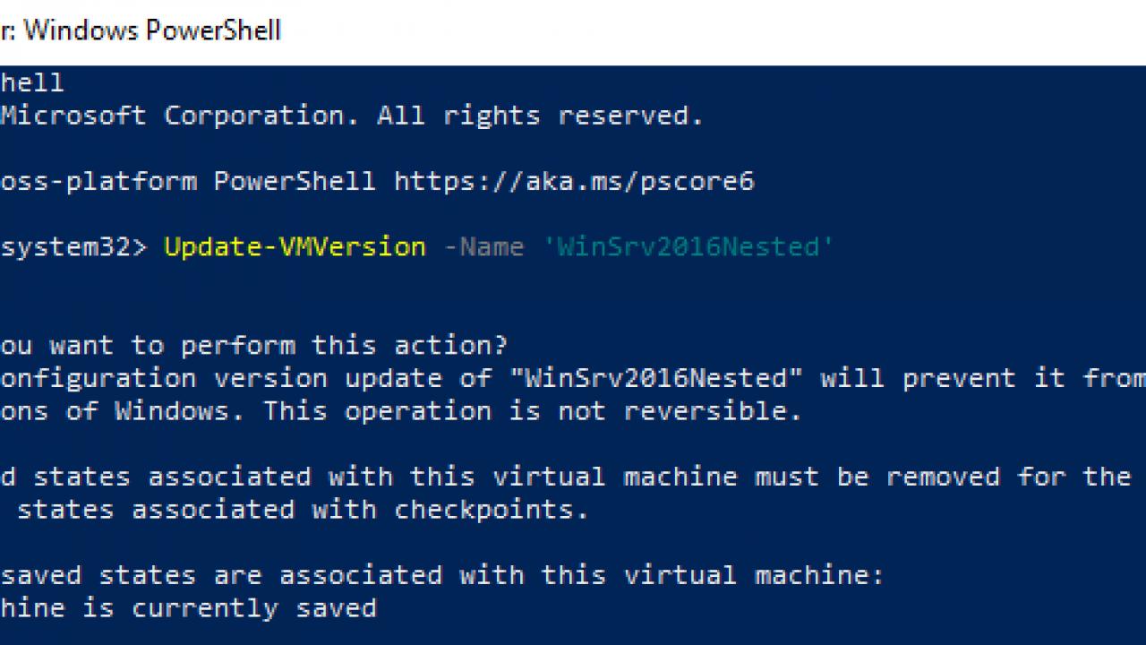 Hyper-V: Nested Virtualization on Windows Server 2016