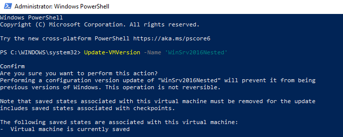 Hyper-V Nested Virtualization