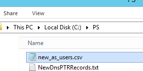 import users into active directory