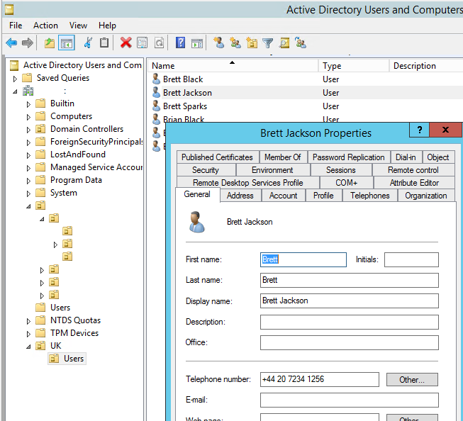 import users into active directory from csv powershell