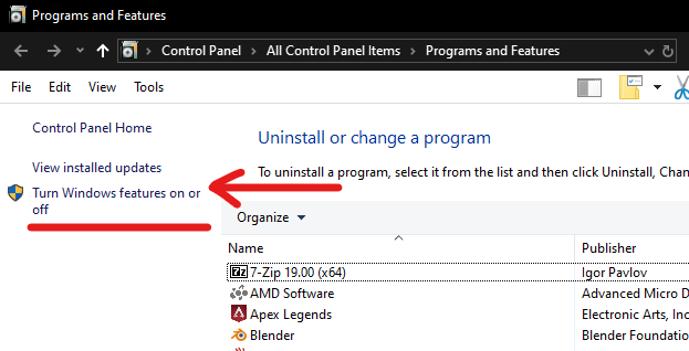 windows 10 linux subsystem
