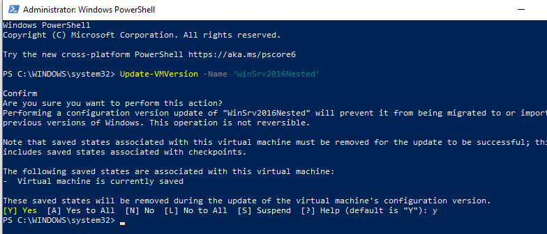server 2016 nested virtualization