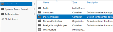 active directory recycle bin 2012 r2
