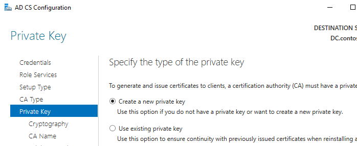 active directory certificate service