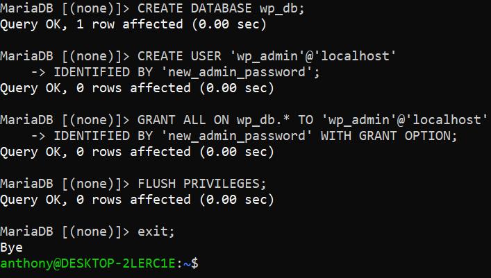 install wordpress ubuntu server