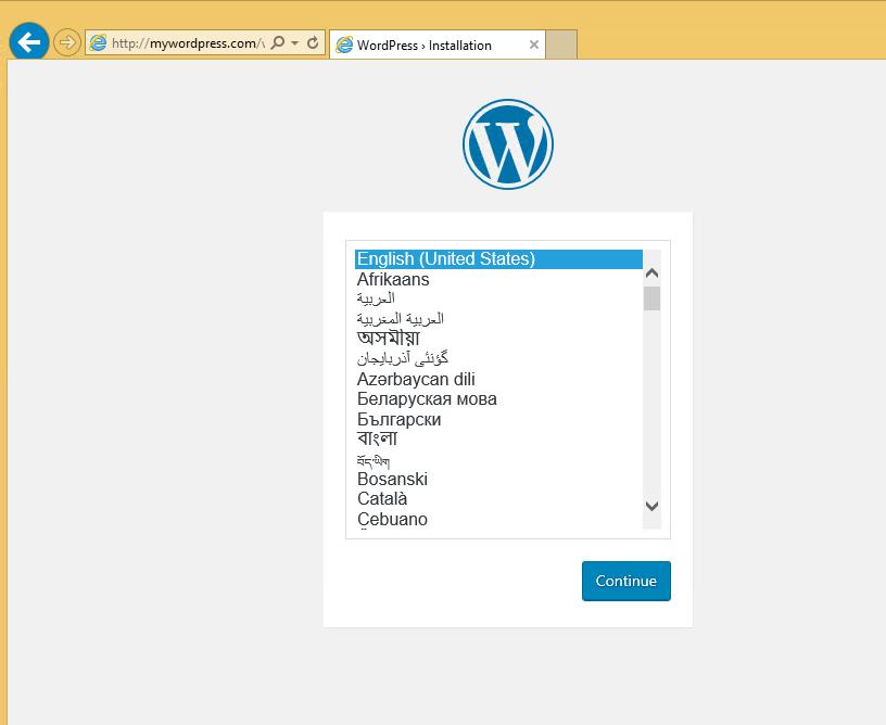 install wordpress on ubuntu 18.04