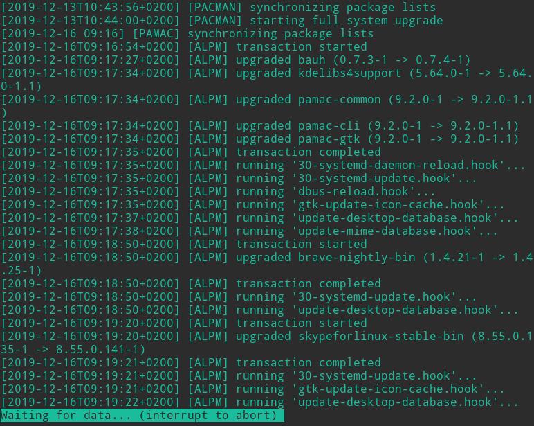 linux less