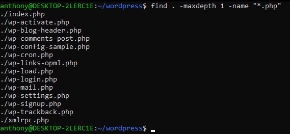 linux find file by name