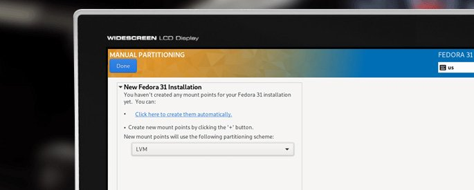 how to install Fedora Server from USB Flash