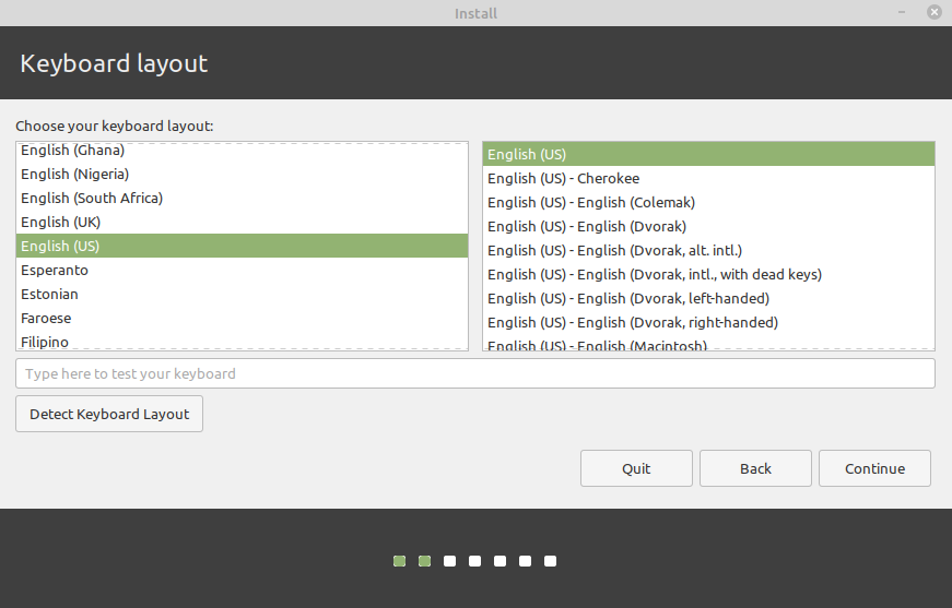 install linux mint from usb flash