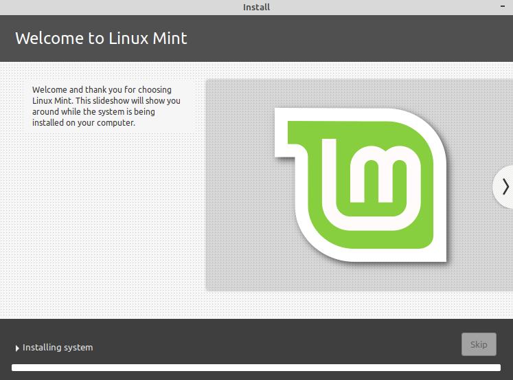 linux mint download usb install