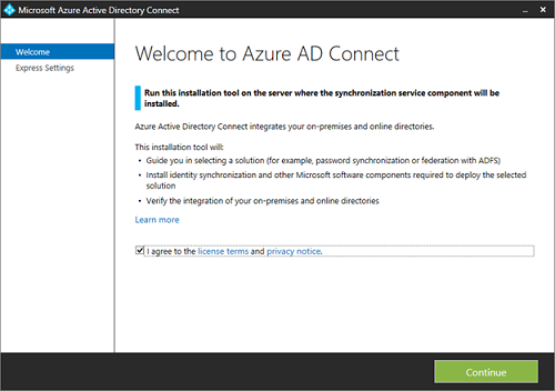 office 365 active directory sync