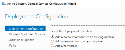 install additional domain controller