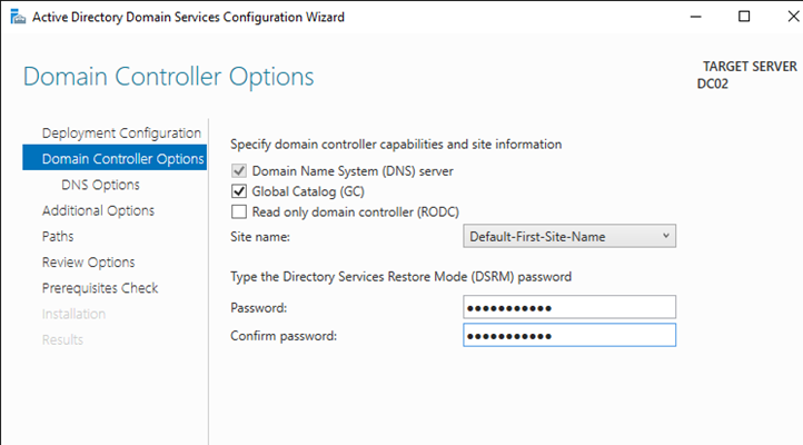 additional domain controller 2016 step by step