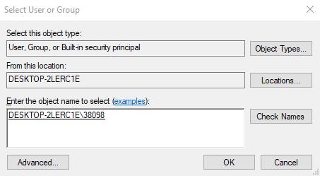 windowsapps folder permissions