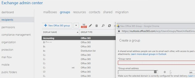 Create Office 365 Group